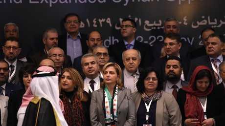 مؤتمر الرياض للمعارضة السورية