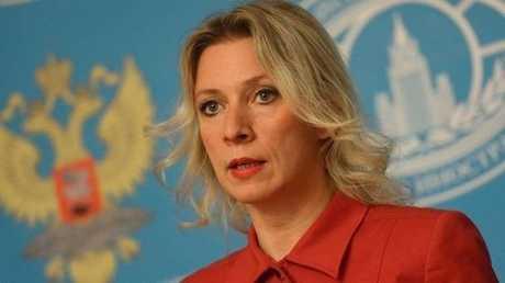 المتحدثة الرسمية باسم الخارجية الروسية، ماريا زاخاروفا