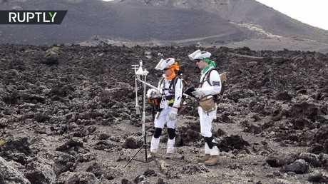 محاكاة زيارة المريخ في جزيرة إسبانية