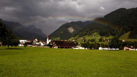 إحدى القرى السويسرية