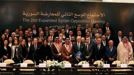 الاجتماع الموسع للمعارضة السورية في الرياض