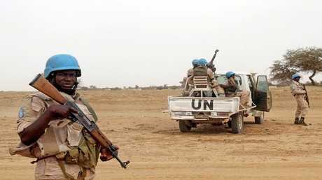 أرشيف - جنود حفظ السلام في مالي في مهمة