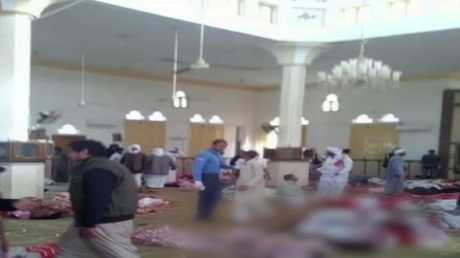 قتلى وجرحى بهجوم استهدف مسجدا في سيناء