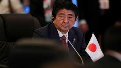 رئيس الوزراء الياباني، شينزو آبي
