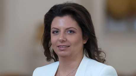 مارغاريتا سيمونيان رئيسة تحرير شبكة RT  و Sputnik