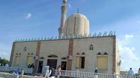 مسجد الروضة في سيناء