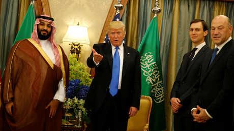 دونالد ترامب ومحمد بن سلمان.. صورة أرشيفية