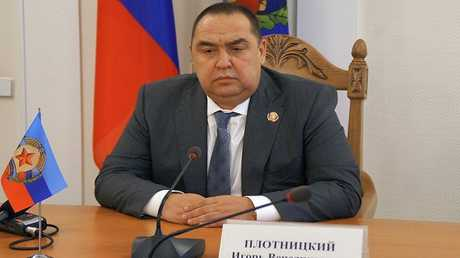 وزير الأمن في إقليم لوغانسك المتمرد في أوكرانيا يترأس الدولة