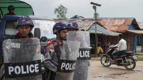 قوات الشرطة البنغلادشية