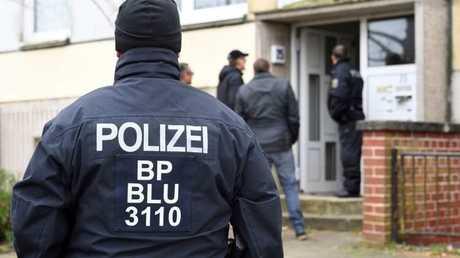 عناصر من الشرطة الألمانية -صورة أرشيفية