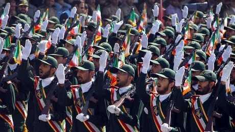 أفراد من قوات الحرس الثوري الإيراني -صورة أرشيفية