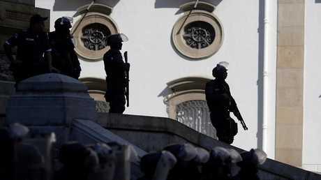عناصر من الشرطة البرازيلية - أرشيف -