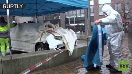 جرحى في حادث دهس قرب ملهى ليلي في ألمانيا