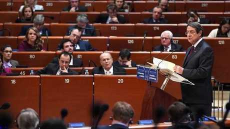 الجمعية البرلمانية لمجلس اوروبا