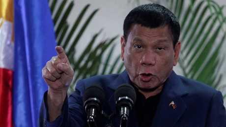 الرئيس الفلبيني رودريغو دوتيرتي - أرشيف