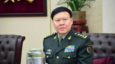 الجنرال جانغ يانغ عضو اللجنة العسكرية المركزية  الذي أقدم على الانتحار