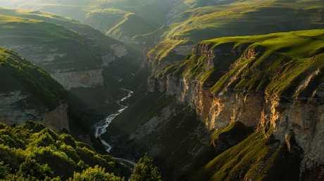 الأنهار الجبلية في الشيشان