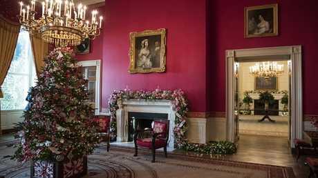 الغرفة الحمراء في البيت الأبيض