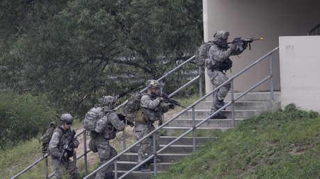 تدريبات مشتركة بين جيشي كوريا الجنوبية والولايات المتحدة