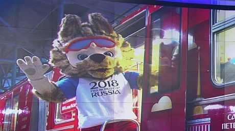 إطلاق قطار المونديال في موسكو