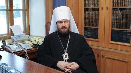 رئيس إدارة العلاقات الخارجية الكنسية في بطريركية موسكو المطران ايلاريون