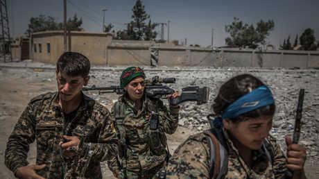 عناصر قوات سوريا الديمقراطية - صورة أرشيفية