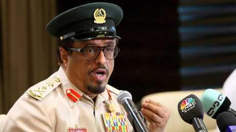 نائب رئيس الشرطة والأمن في دبي ضاحي خلفان تميم