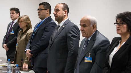 وفد الهيئة العليا للمفاوضات في مؤتمر جنيف-8