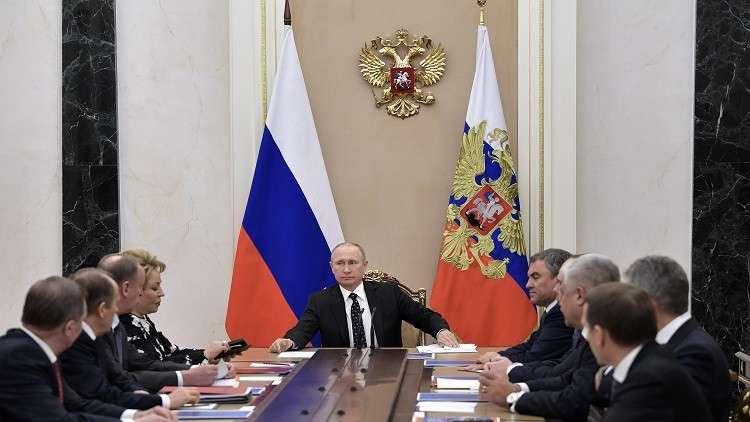 بوتين يبحث قضية كوريا الشمالية مع مجلس الأمن القومي