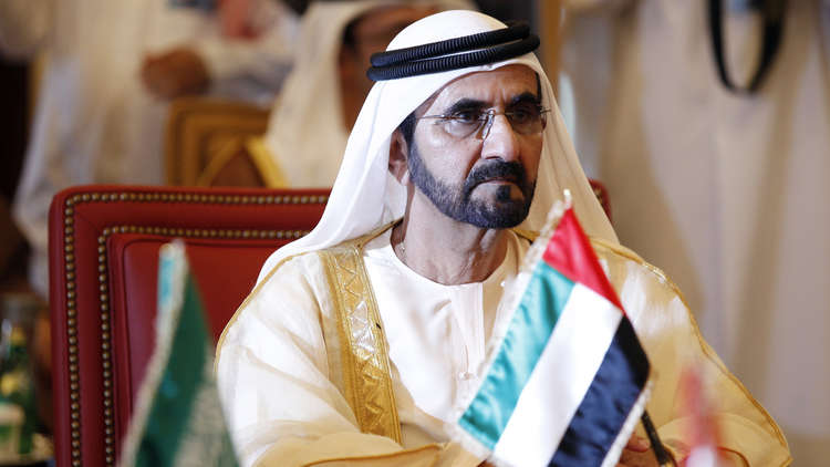حاكم دبي ينشر صورة شبله زايد بالزي العسكري ..فكيف علّق مواطنوه؟
