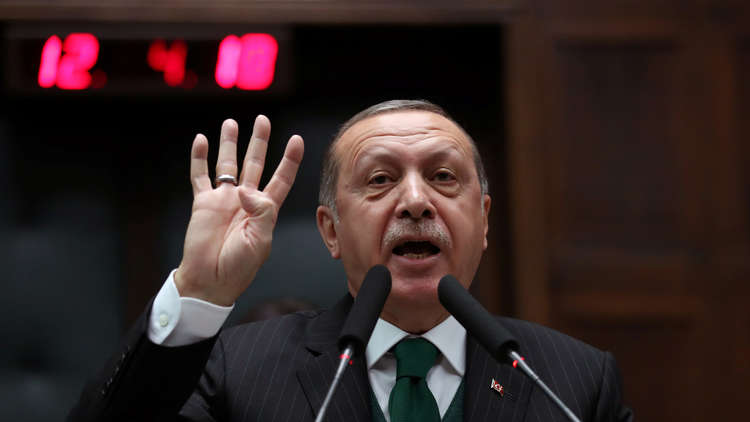 أردوغان: من يحاول المساس بترابنا نمطره بوابل من النيران