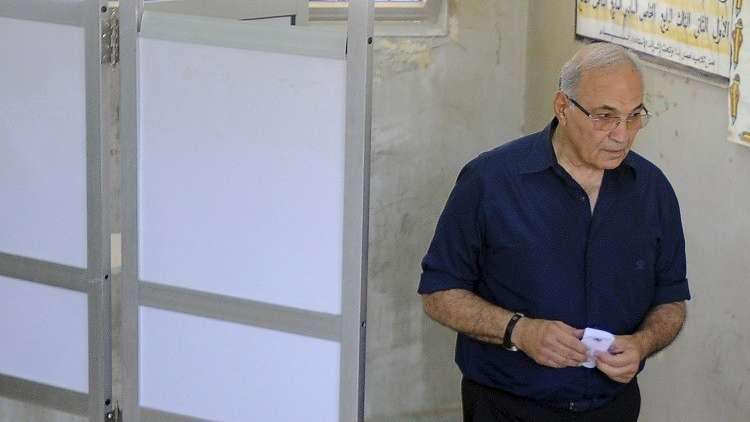 رئيس الوزراء المصري الأسبق الذي يعتزم الترشح للرئاسة أحمد شفيق