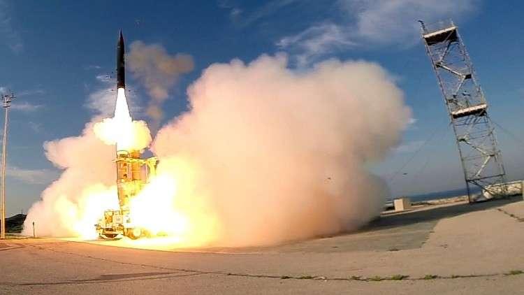 عطل يعيق اختبار صاروخ