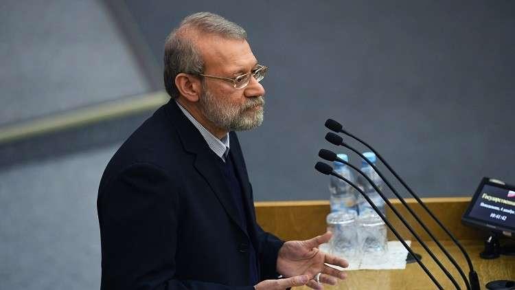 لاريجاني: إسرائيل عاجزة عن نيل أي هدف إيراني في سوريا