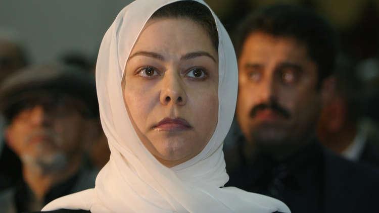 ابنة صدام حسين تنعي صالح: