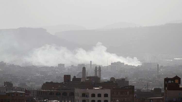 مقاتلات التحالف العربي تشن غارات على مواقع للحوثيين في صنعاء