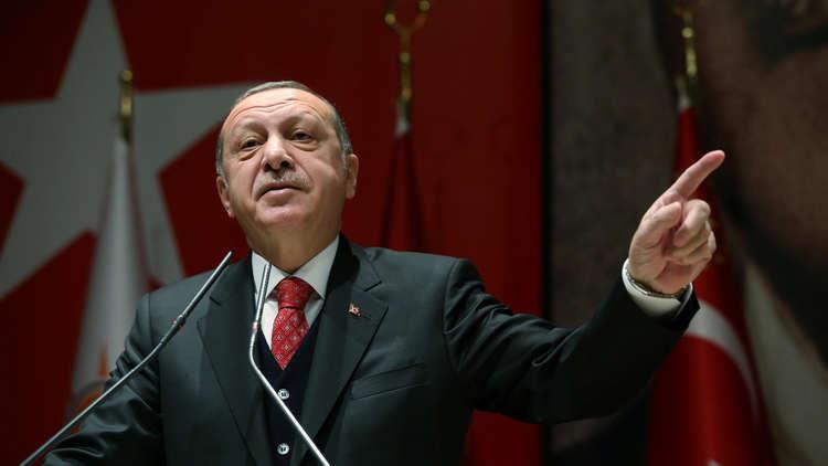 أردوغان: الإرهابيون الذين غادروا الرقة أرسلوا إلى مصر