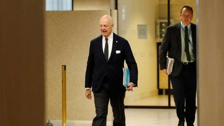 استئناف المفاوضات السورية في جنيف
