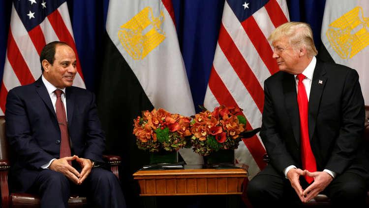 ترامب يبلغ السيسي بنيته نقل السفارة الأمريكية في إسرائيل إلى القدس