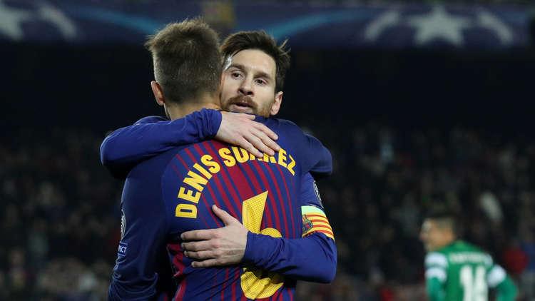 أبطال أوروبا.. برشلونة يهزم سبورتينغ لشبونة ويوفنتوس يحسم تأهله