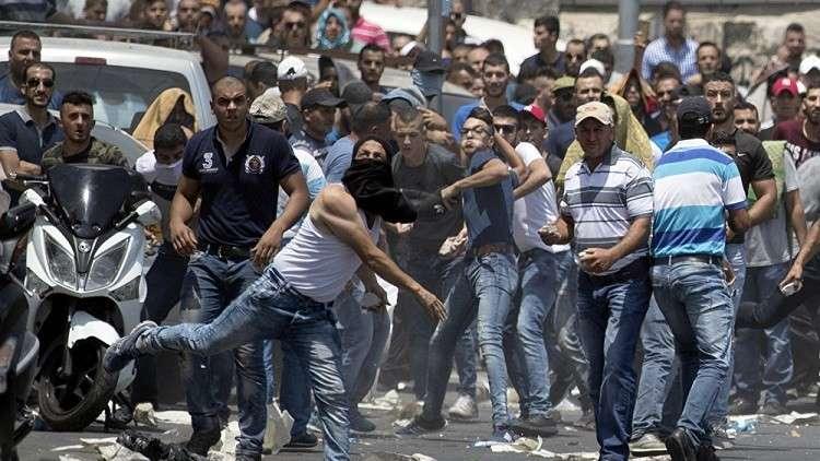 مواجهات في بيت لحم عند قبة راحيل احتجاجا على الخطوات الأمريكية بشأن القدس