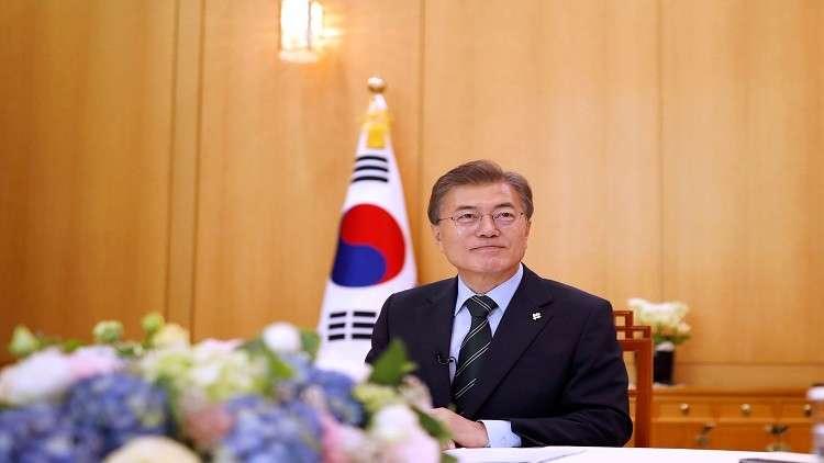 رئيس كوريا الجنوبية يبحث مشكلة جارته الشمالية في أول زيارة للصين