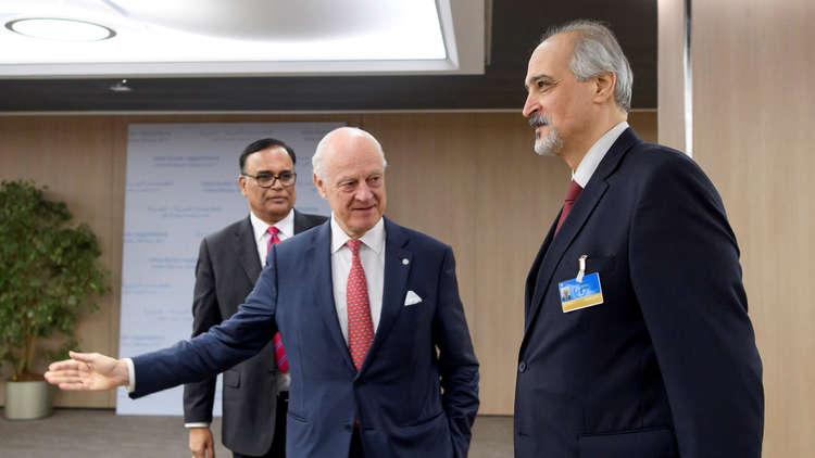 موسكو: وفد الحكومة السورية سيعود إلى جنيف الأحد