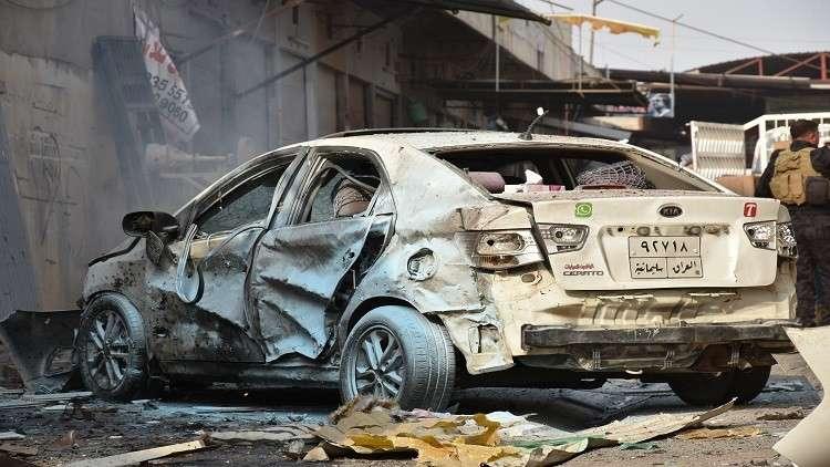 قتلى وجرحى بانفجار سيارة مفخخة في مخمور العراقية