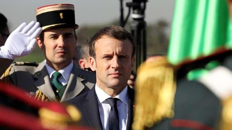 ماكرون من الجزائر: فرنسا لا تؤيد قرار ترامب أحادي الجانب بشأن القدس