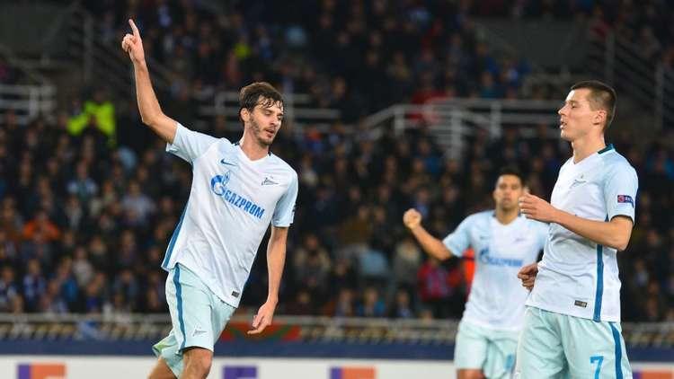 زينيت يتأهل بصحبة ريال سوسييداد في الدوري الأوروبي