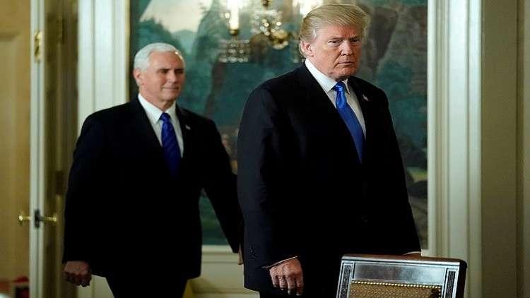 واشنطن: ترامب متمسك بعملية السلام في الشرق الأوسط