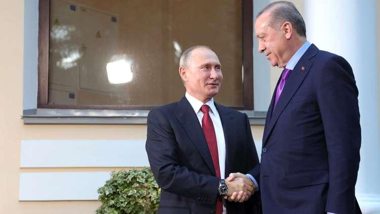 بوتين وأردوغان: قرار ترامب حول القدس يمكن أن يغلق آفاق عملية السلام