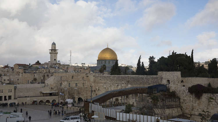 لإسرائيل الحق في القدس والضفة كغنيمتي حرب