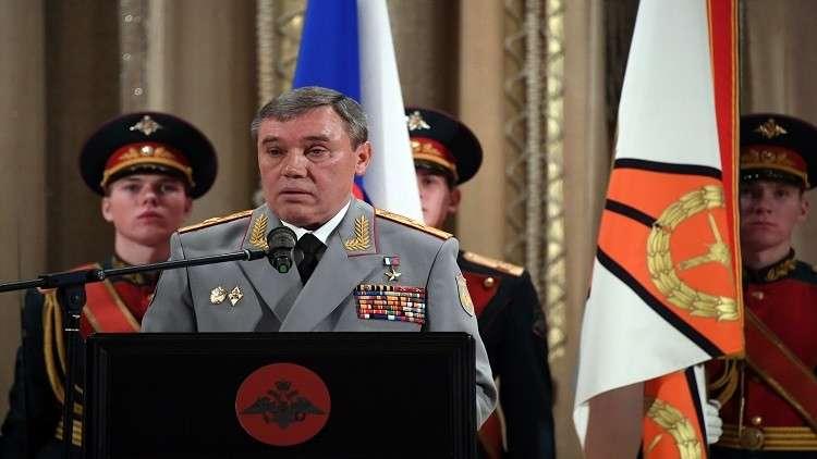 الأركان  الروسية تحدد القادة العسكريين الروس المتميزين في سوريا